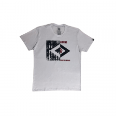 Camiseta Masculina Ox Horns Branca Country Brand REF 1450