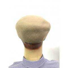 Boina Masculina Pralana Bege 100% Lã
