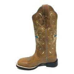 Bota Texana Country Feminina Vimar Cruz Azul