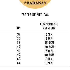 Botina Batistão Nobuck Rato Bico Redondo - Ref.027