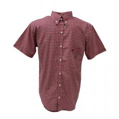 Camisa Masculina Ox Horns Vermelho Xadrez  Ref: 8240
