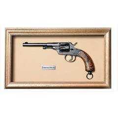 Quadro de Arma Karin Grace  Reichrevolver mod.1879 cal. 11mm