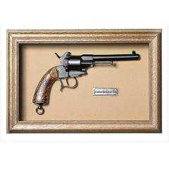 Quadro de Arma Resina KG - Lefaucheux Revolver cal. 11mm