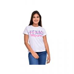 Camiseta Feminina Texas Farm Branca REF 1917954