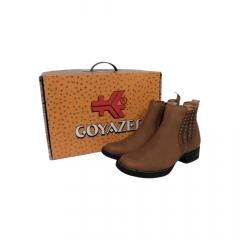 Botina Fem Goyazes Couro Dallas Furta Cor - Ref. 2132101-CK