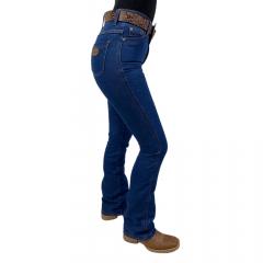 Calça Jeans Feminina Flare Badana 01 - Navy Blue - Alabama