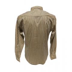 Camisa Masculina Classic Xadrez Amarelo Ref: 1912