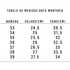 Bota Montaria Feminina Goyazes Altanta Café