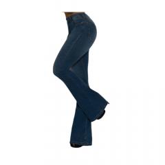 Calça Feminina TXC XF Flare Mid Jeans Azul