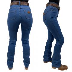Calça Jeans Feminina Flare Badana 02 - True Blue - Alabama