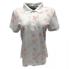 Camiseta Polo Feminina Escaramuça Terni Branca