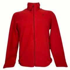 Jaqueta Masculina Micro Fleece Solo Vermelha