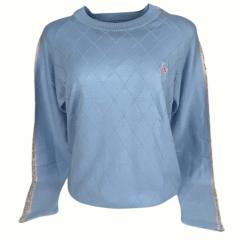 Blusa Suéter Feminino La Jineteada Azul Claro  Ref: 774