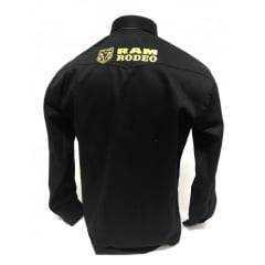 Camisa Masculina Radade Bordada Ram Preta