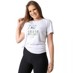 Camiseta Country Feminina TXC Branco e Verde