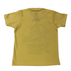 Camiseta Country Infantil Ox Horns Unissex Amarela Ref. 5064