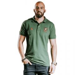 Camiseta Polo TXC Extra Masculino Verde Claro Ref.: 6320