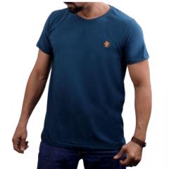 Camiseta Masculina Sacudido's Básica Verde Ref.: CB044SCD
