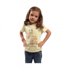 Camiseta T Shirt Infantil Miss Country Verde Ref.: 0707