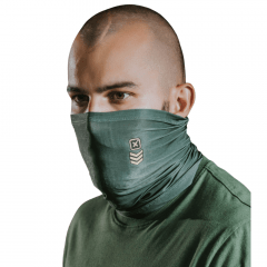 Balaclava Bandana TXC Linha Face Wear Verde Militar Ref.: FS12