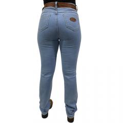 Calça Jeans Feminina Reta Badana 05 - Steel Blue - Alabama