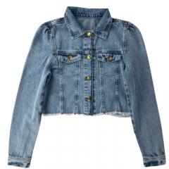 Jaqueta Jeans Feminina Maragata - Curta - Ref: 1700