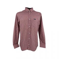 Camisa Masculina Wrangler Tricoline Fit Xadrez Ref.: WM9971UN