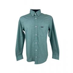 Camisa Masculina Wrangler Tricoline Fit Xadrez Ref.: WM9972UN