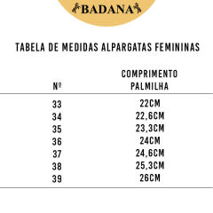 Alpargata Feminina Guria Campeira Chapada Cinza