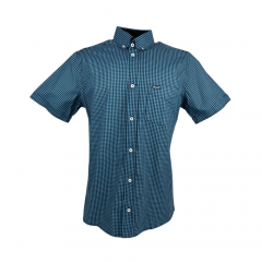 Camisa Masculina Wrangler Tricoline Fit Xadrez Ref.: WM9922UN