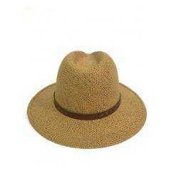 Chapéu Pralana Panamá Amarelo Weekender Algas - 0019