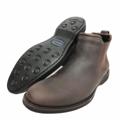 Sapato Anatomic Gel Mustang Brown Cost Café - Ref 5011
