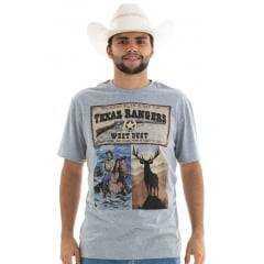Camiseta Masculina West Dust México Texas Tangers - Mescla
