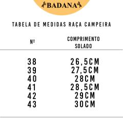 Bota Gaúcha Raça Campeira Fóssil Whisky Solado Borracha