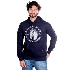 Moletom Masculino Estanciero Azul Marinho Ref: 4403A-008