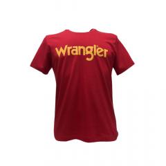 Camiseta Masculina Wrangler Vermelho Ref: WM8107VM