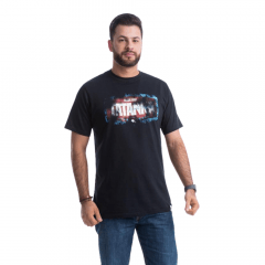 Camiseta Masculina Tatanka Preta Ref M39
