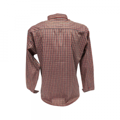 Camisa Masculina Classic Xadrez Coral  Ref: 1908
