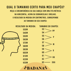 Chapéu Gaúcho El Dorado Marrom Aba 10