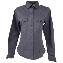 Camisa Feminina Pampa Sul Chumbo Ref: 17018