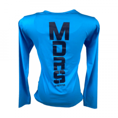 Camiseta UV Feminina Os Moiadeiros Azul Claro Ref.: UV24