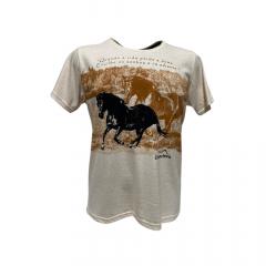 Camiseta Masculina Estanciero Branca REF 3970A024