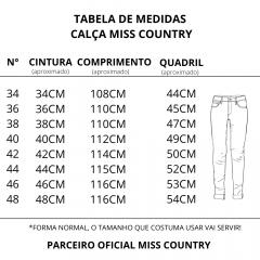 Calça Feminina Miss Country Jeans Bravura Ref.: 0679