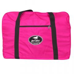 Bolsa de Nylon Para Sela Boots Horse Rosa Pink