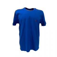 Camiseta Masculina Ox Horns Azul  Básica - Ref. 8024