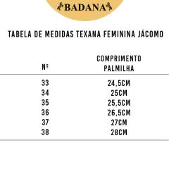 Bota texana Feminina Jácomo Fóssil Buf Saar - Ref. 4721