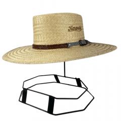Chapéu Karandá Palha Dupla Campeiro Premium II Aba 10