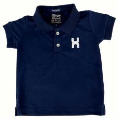Camiseta Polo Infantil TXC Azul Marinho Ref.: 28032