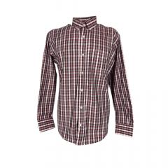 Camisa Masculina Xadrez Classic Rosa