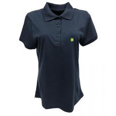 Camiseta Polo Feminina Escaramuça Baden Azul Marinho